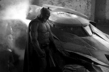 ben affleck's batman (with batmobile)