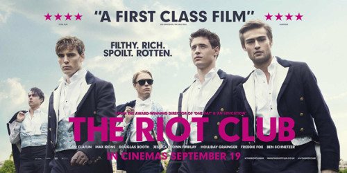 the riot club banner