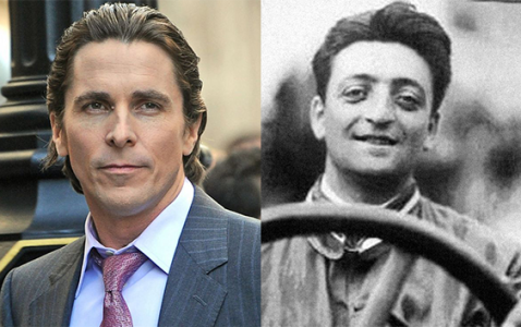 christian bale will play enzo ferrari