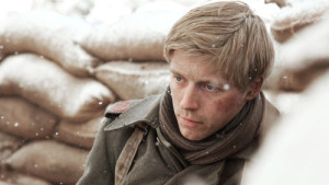 Programme Name: The Passing Bells - TX: n/a - Episode: n/a (No. 5) - Picture Shows: Michael (JACK LOWDEN) - (C) Red Planet - Photographer: Ola Grochowska