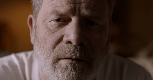 Peter Mullan in 'Edith' (2016) short film by Christian Cooke