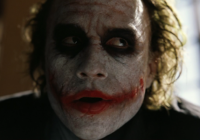 Heath Ledger & The Joker. What Were Once Separate Entities Have Since Become One.