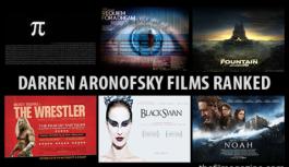 Darren Aronofsky Movies Ranked
