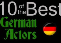 Ten of the best…German actors