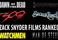 Zack Snyder Films Ranked