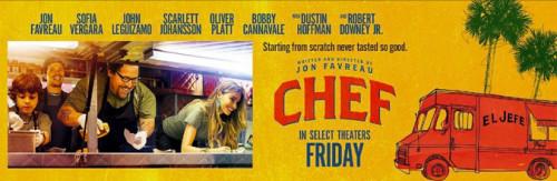 chef movie banner