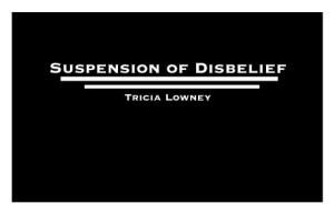 SuspensionDisbelief