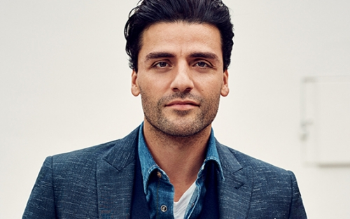 Oscar Isaac as photographed by Nathanial Goldberg for American GQ.