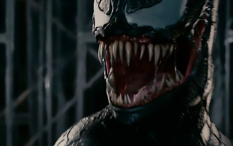 Venom's last movie outing was in 'Spider-Man 3', as played by Topher Grace.