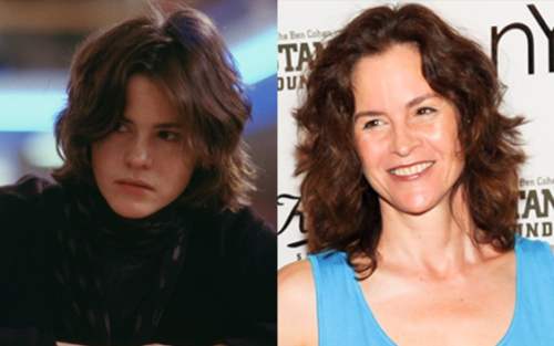Allison Reynolds then and now