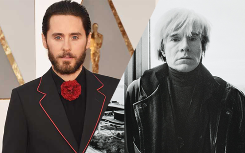 Jared Leto will play Andy Warhol in an upcoming biopic
