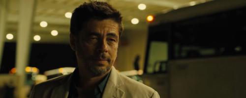 Benicio Del Toro in 'Sicario' (2015).