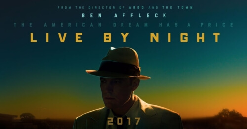 live by night poster, live by night bombs at the box office