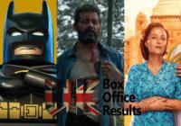 UK Box Office Results Mar 3-5