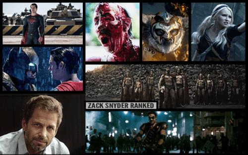 Zack Snyder Movies Ranked 2018