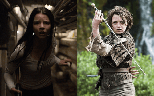 anya taylor-joy and maisie williams in 'new mutants'