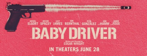 Edgar Wright Baby Driver Movie Banner