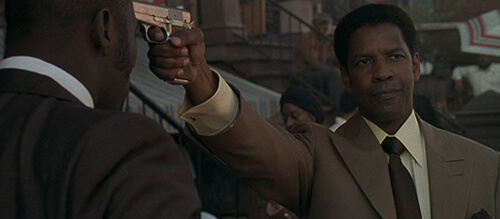 Denzel Washington American Gangster