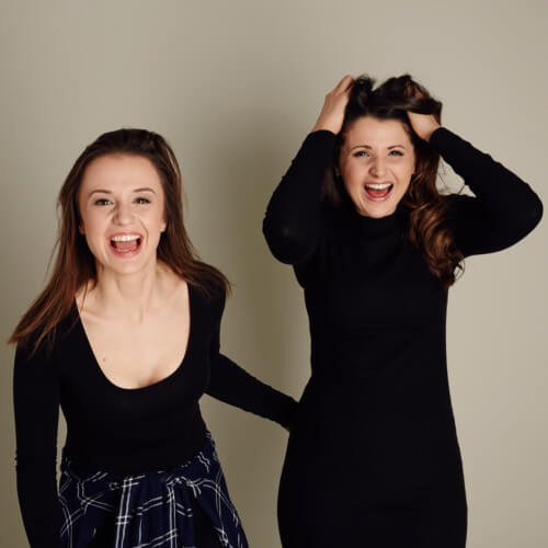 mini productions founders april kelley and sara huxley