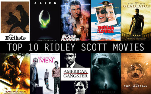 Best Ridley Scott Films