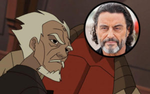 Ian McShane David Harbour Hellboy Reboot
