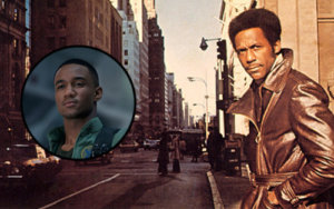 Jessie T Usher and Shaft