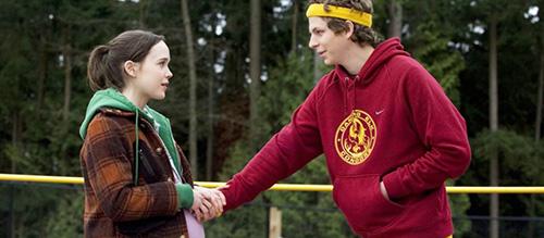 Ellen Page Michael Cera Juno 2007