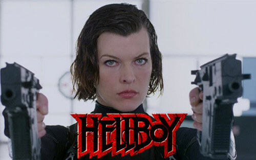 Milla Jovovich Blood Queen Hellboy Movie