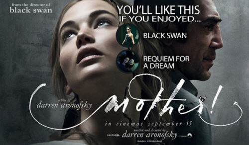 Mother! Darren Aronofsky Jennifer Lawrence Javier Bardem