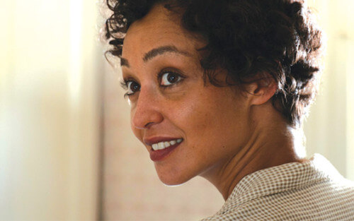 Ruth Negga in 'Loving' for 'Ad Astra' news with Brad Pitt
