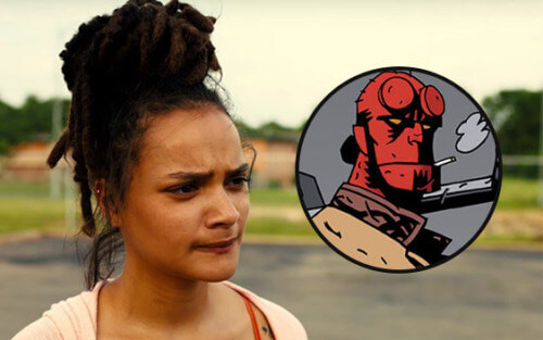 Sasha Lane Hellboy: Rise of the Blood Queen
