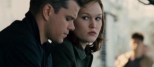 Matt Damon Julia Stiles The Bourne Ultimatum Paul Greengrass