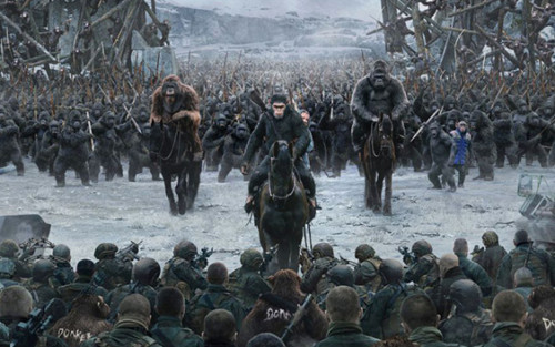 War for the Planet of the Apes Andy Serkis 2017