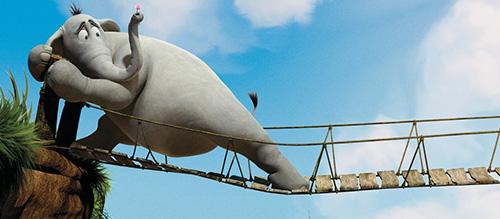 Jim Carrey Horton Hears A Who Animation