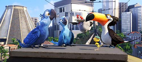 Rio Movie Animation