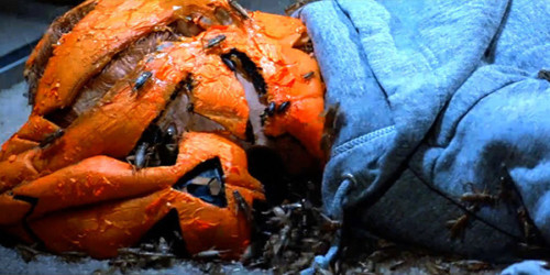 Halloween III Broken Pumpkin Head