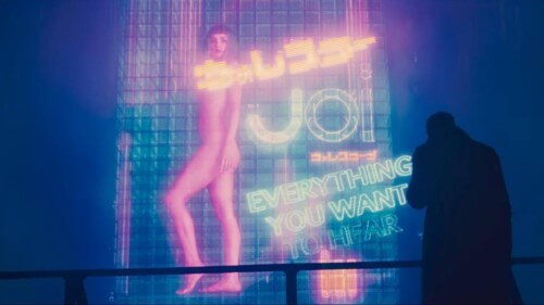 Joi Body Representation Blade Runner 2049