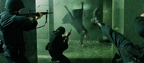 The Matrix screengrab wachowskis
