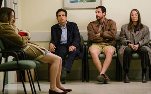 the meyerowitz stories review ben stiller adam sandler