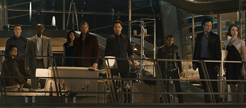 Avengers Age of Ultron 2015 Cast