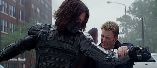 Captain America 2 Marvel Winter Soldier Bucky Barnes