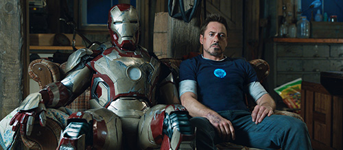 Iron Man 3 Robert Downey Jr Shane Black Movie