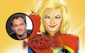 Jude Law Marvel Movie Captain Marvel News
