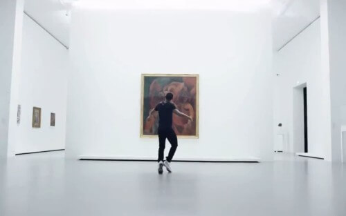 Lil Buck With Icons of Modern Art Dance Short FIlm Andrew Margetson