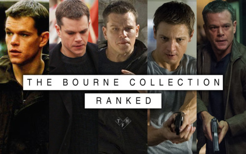 Every Bourne Movie Ranked TFM