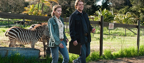 We Bought A Zoo Matt Damon Scarlett Johansson