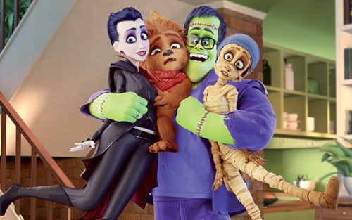 Monster Family Sky Movies