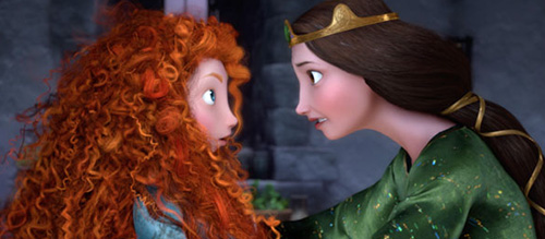Brave Pixar Movie Merida Mom