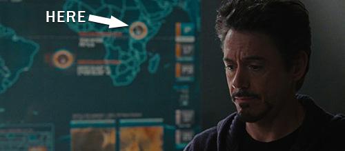 Black Panther in Iron Man 2