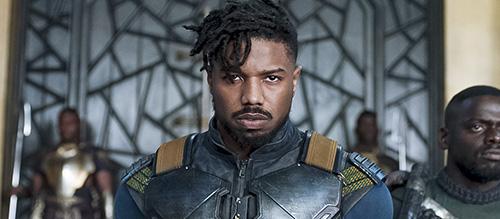 Michael B Jordan Black Panther 2018